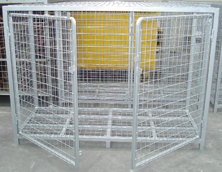 Petrol Station Cages